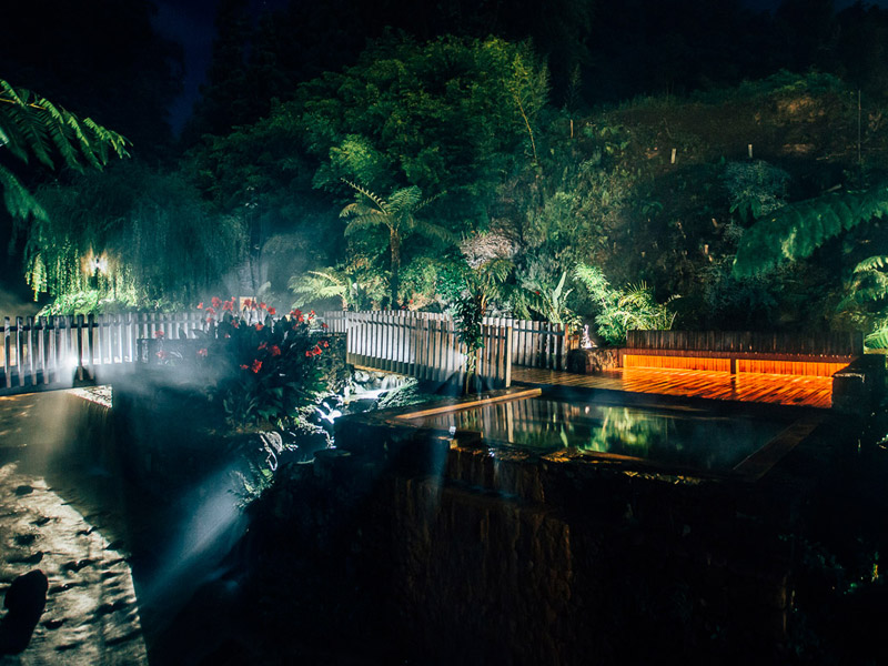 Night Hot Springs